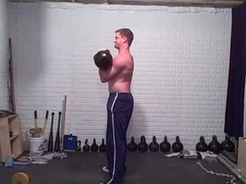 Kettlebell Clean+Press Image 1