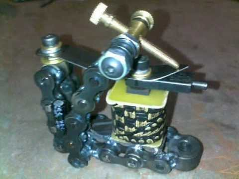 DirtysDesigns ChainGang Coil Tattoo Machine 1