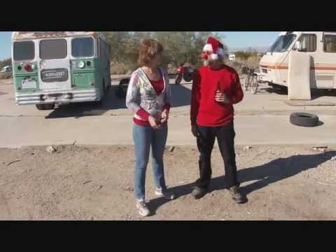 Syndi Interviews Airracket at Slab City, Niland, CA on Christmas Day 2011 .wmv