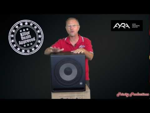 RCF Ayra 10 Subwoofer in depth review inside and out - RCF Authorized Dealer