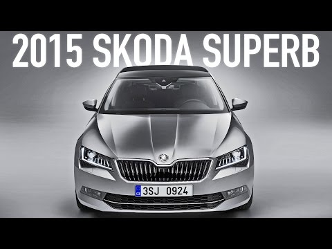 ► 2015 Škoda Superb world premiere