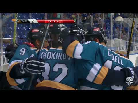 Ugra 3 HC Sochi 2 OT 30 September 2017 Highlights