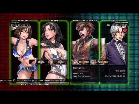 Tekken Tag Tournament 2 : Yanflip21 ( Jun X Asuka ) VS x5starHilander ( Hwoarang X Lee )