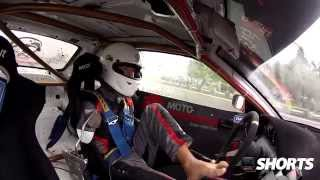 Drift.ro Shorts: Polish Pro Drifter Bartosz drifts using his feet