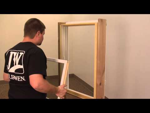 How to Remove a Wood Window Compression Sash