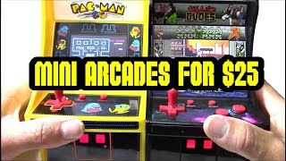 Quick look at My Arcade mini Pac Man & Bad Dudes for $25 at Walmart