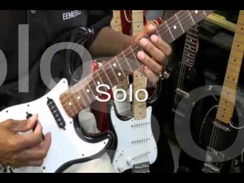 Kool & The Gang FRESH Quick Funky Friday Guitar Solo Cover EricBlackmonMusic