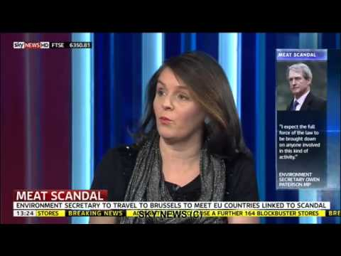 Karin Ridgers VeggieVision TV - The Vegetarian Voice During Horsemeat Scandal