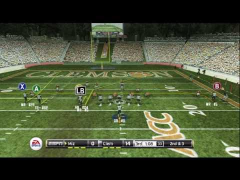 NCAA Football 2011 Missouri vs. Clemson