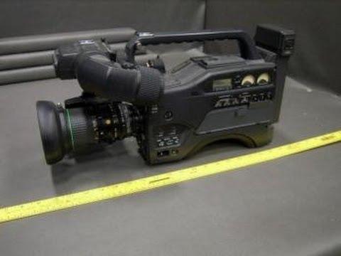 sony hyper had hi8 television camera on govliquidation.com