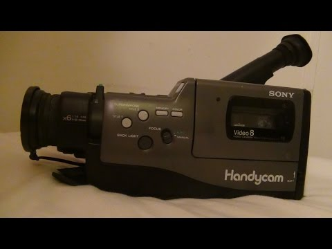 1990 Sony Handycam CCD F330 Review