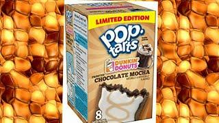 Dunkin donuts chocolate mocha Pop-Tart Review