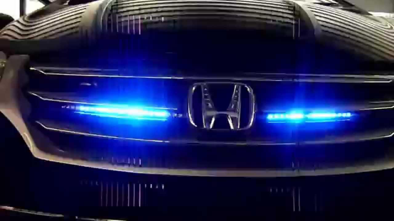 SMD LED Strip Bar Blue Color Scanning Light Kit Remote For Car Auto ...