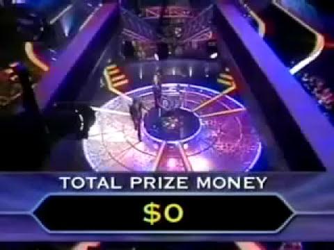 Figura di merda: Ragazzo esce alla prima domanda di chi vuol essere milionario!