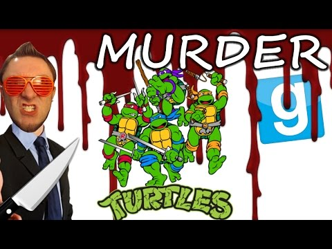 Garry's Mod Murder! | TURTLES! (75) W/ Minx, Chilled, Smarty & Galm