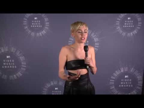 Miley Cyrus Explains VMA Acceptance Speech.