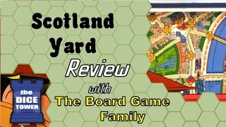 Scotland Yard Review - with the Board Game Family
