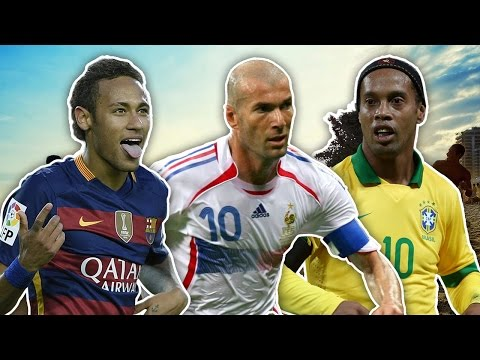 Top 10 Most Skilful Footballers In History