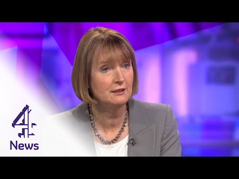 "Harriet Harman defends Labour's pink ""barbie bus"" 