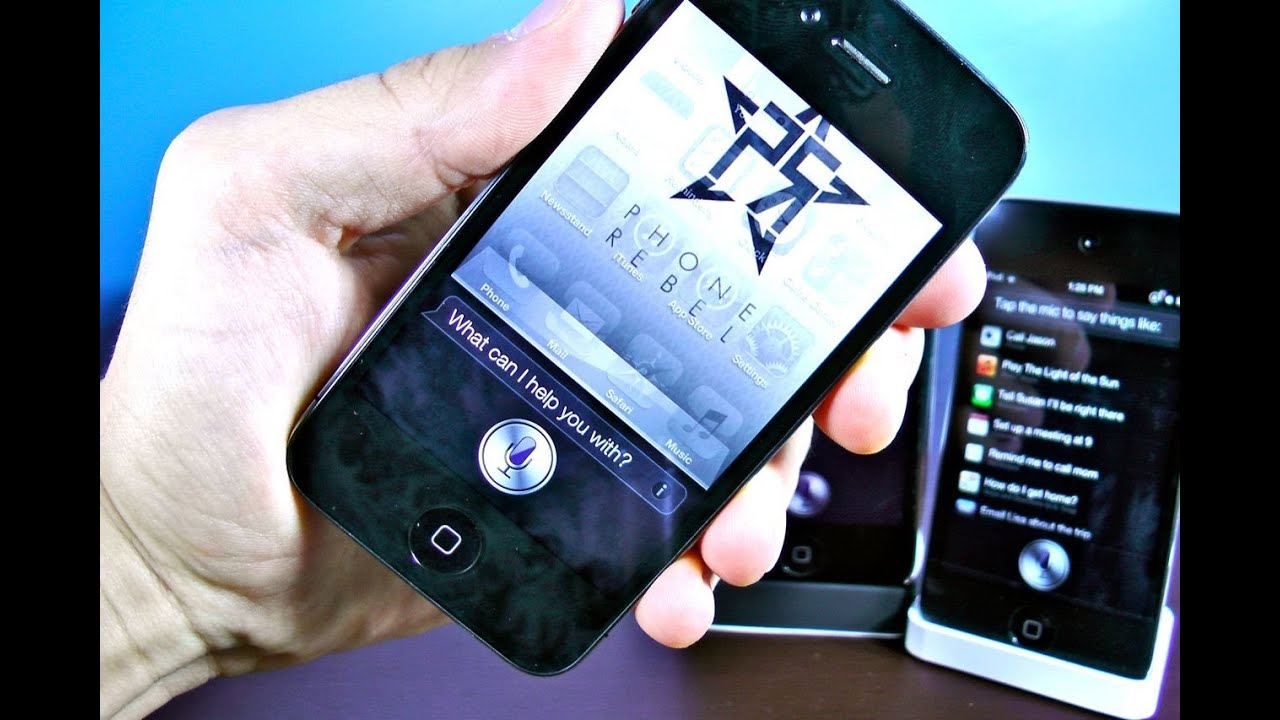 how to add siri to iphone 4