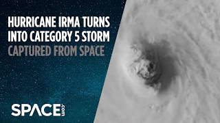 Watch Hurricane Irma Turn Into Category 5 Storm From Space