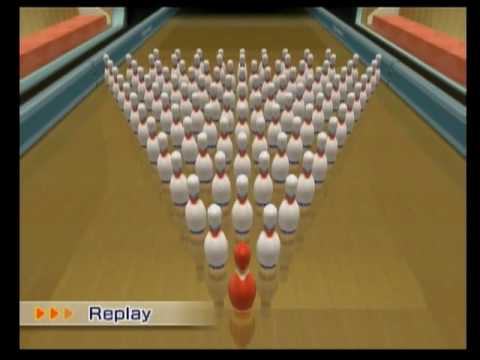 good old nintendo for putting this into sports resort. originally this was in wii sports as an easter egg which would give you an automatic strike if the wal...