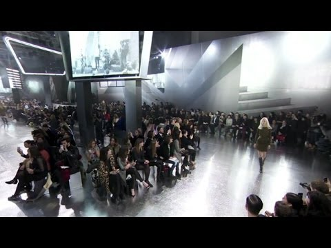 H&M Studio Collection AW14  - The Paris Fashion Show