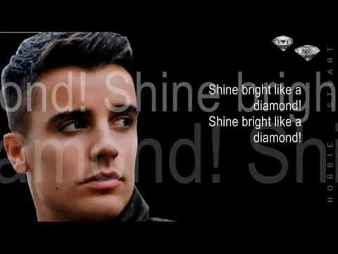 Hobbie Stuart Covers Diamonds By Rihanna Lyrics video