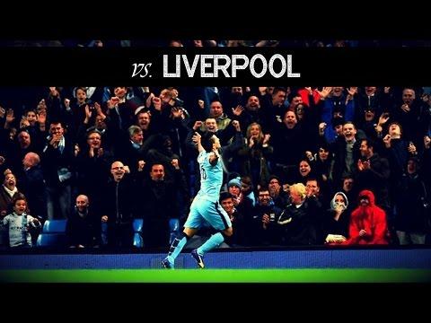 Sergio Agüero vs Liverpool (H) 14/15 - HD 720p By KunAguero10i