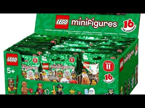 Lego Minifigures Series 11 - Opening 5 Packs