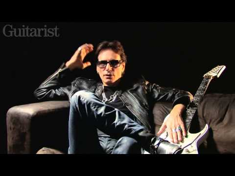 Steve Vai On Touring With David Lee Roth with Guitarist Magazine (2012)