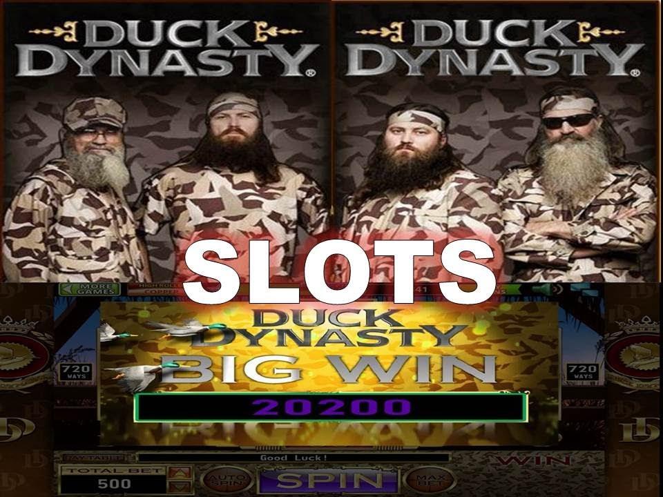 duck dynasty slot machines