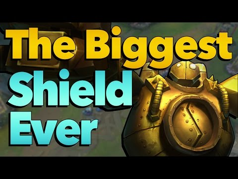 NEW WORLD RECORD: The Biggest Shield Ever | League of Legends LoL
