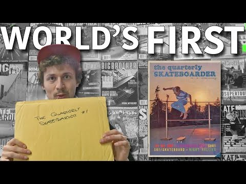 World's Very First Skate Mag 1964 Review