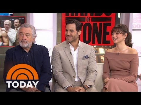 Robert De Niro, 'Hands Of Stone' Co-Stars: Did Duran Really Say 'No Mas'? | TODAY
