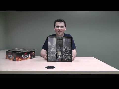 Gears of War Unboxing Board Game