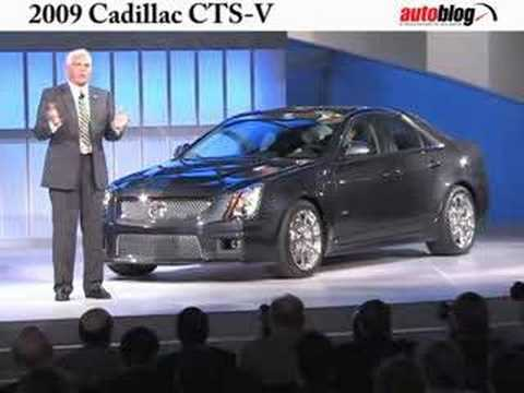 GM unveils the Cadillac CTS-V at Detroit Auto show