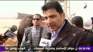 فيديو| شاهد لحظة خروج الماء من أكبر بئر فى غرب المنيا الذي يستمد مياهه من الخزان النوبى العملاق