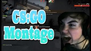 Funny CS:GO Montage - Counter Strike Global offensive