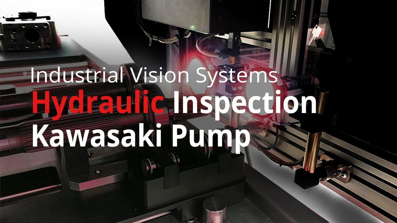 Industrial Vision Systems Inspect Pump Sub Assembly Youtube