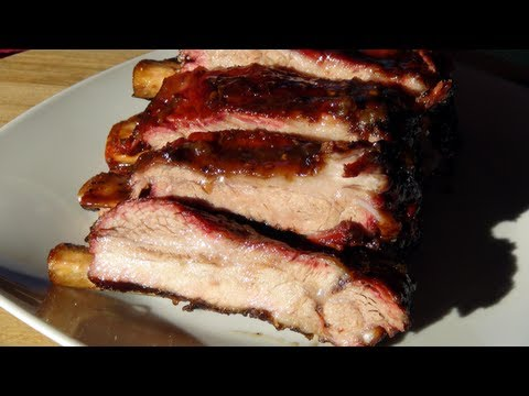 Black Cherry Bourbon Spare Ribs - An easy how to recipe