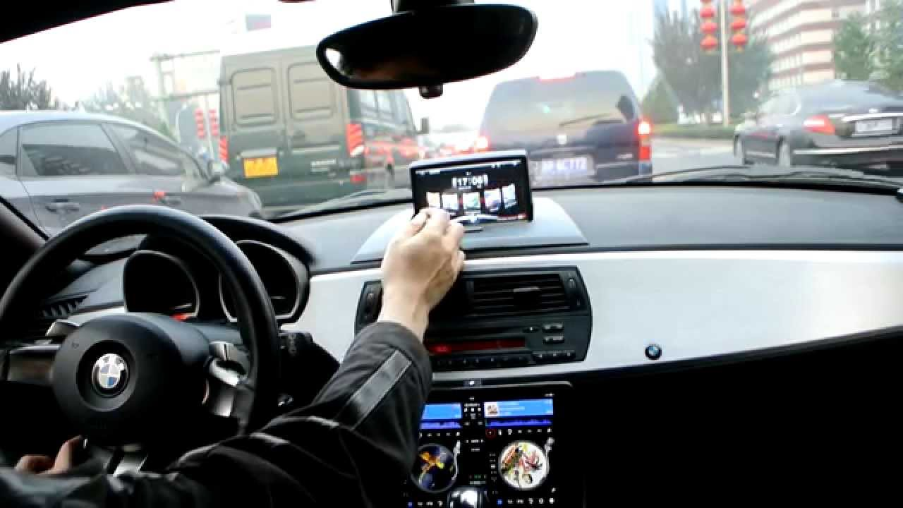 Ipad Air And Bmw Z4 E85 Youtube