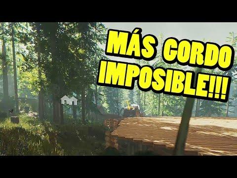 Actualización THE FOREST - Ragdoll, trampas, PESO MÁXIMO!!! | Gameplay Español