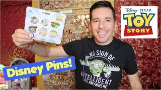 New TOY STORY Pin Series at Disney Store + Tiny Big Feet Plush!