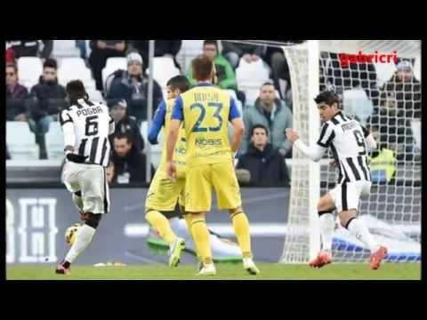 Juventus Chievo 2 0 Zuliani al Gol di Pogba...