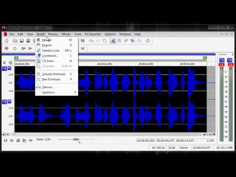 Modificar la Voz en Sony Sound Forge 10