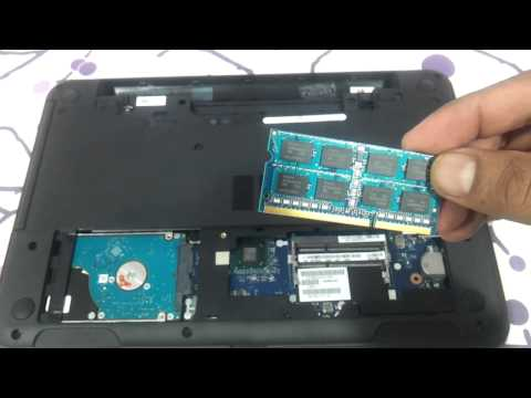 how to upgrade ram and harddrive of dell inspiron 3521 5521 do it yourself
