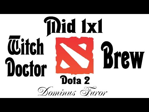 Фурор & Mid 1x1 | Witch Doctor vs Brewmaster | Бог на миде #008