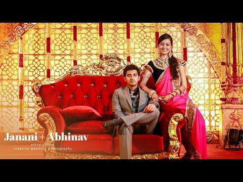 Janani+abhinav Wedding Film video
