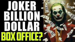 JOKER Box Office - Joaquin Phoenix Movie OUTPERFORMS Again! Is One BILLION Dollars NEXT?